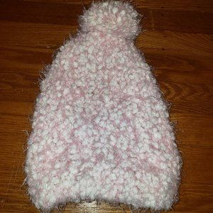 Slightly Used Light Pink Fuzzy Hat!